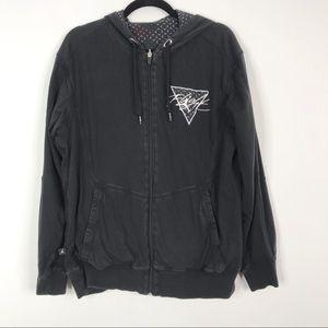 Jordan Reversible Flight Sweatshirt Hoodie Black M